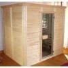 Afbeelding 4 van Azalp Massieve sauna Genio 210x180 cm, 45 mm