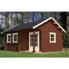 Bild 11 von Azalp Blockhaus Kinross 450x450 cm, 30 mm