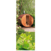 Afbeelding 9 van Azalp Buitensauna Barrel 207x230 cm in 45 mm