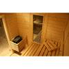 Afbeelding 6 van Azalp Massieve sauna Genio 240x220 cm, 45 mm