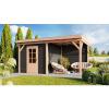 Bild von WoodAcademy Gartenhaus Baron 580x300 cm