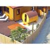 Afbeelding 8 van Azalp Buitensauna Barrel 207x230 cm in 45 mm