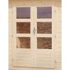 Afbeelding 3 van Woodfeeling Bastrup 4 met veranda 200 cm (77937)