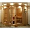 Afbeelding van Azalp Sauna Runda 237x203 cm elzen