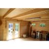 Bild 3 von Azalp Blockhaus Ingmar 450x350 cm, 45 mm