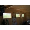 Bild 5 von Azalp Blockhaus Lars 500x550 cm, 45 mm