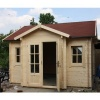 Bild 11 von Azalp Blockhaus Essex 500x300 cm, 45 mm