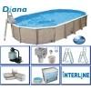 Afbeelding van Interline Diana 610 x 360 x 132 cm inclusief pakket