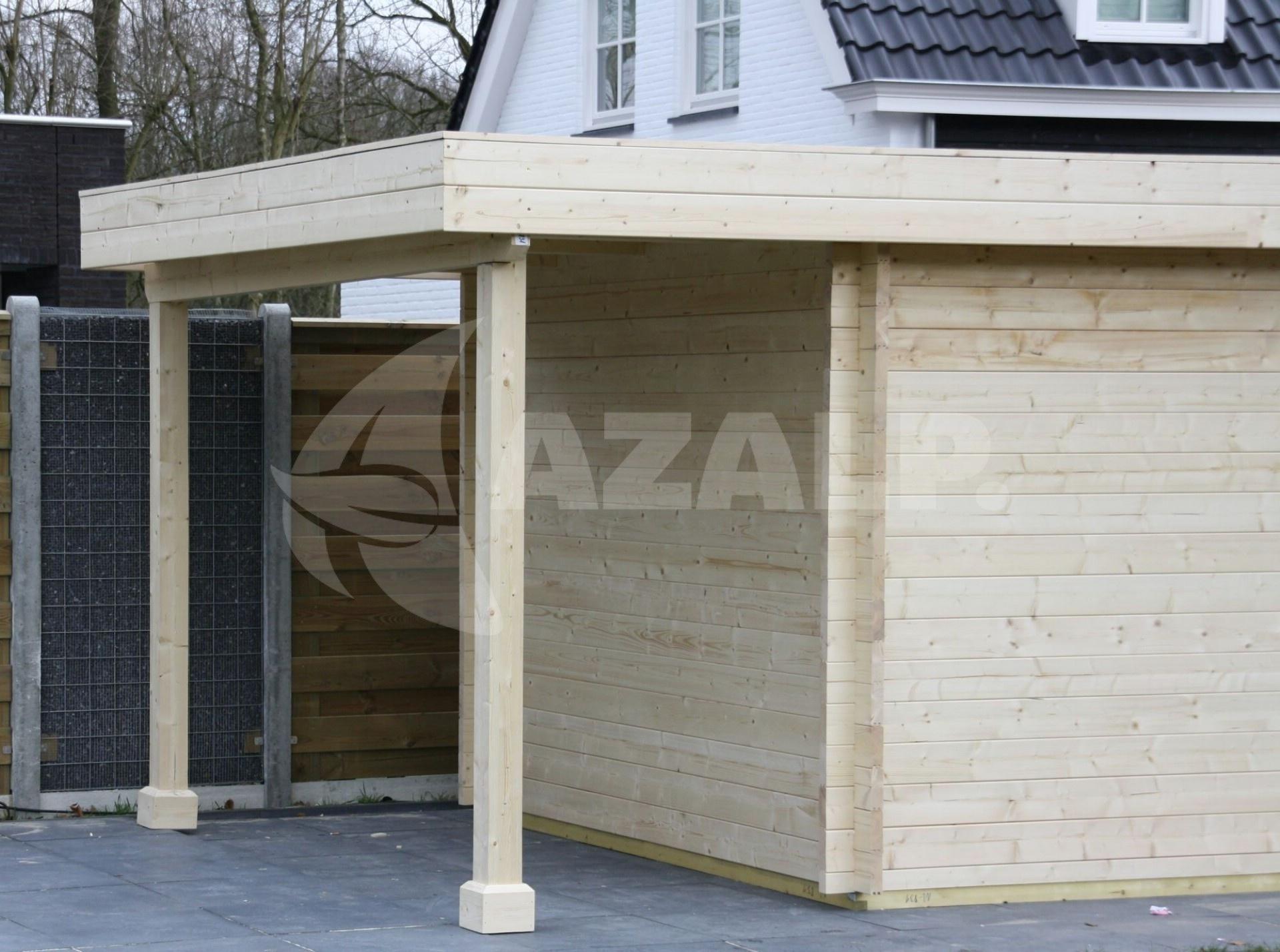 Azalp Blockhaus Sven 500x300 cm, 30 mm Kaufen bei Azalp.de