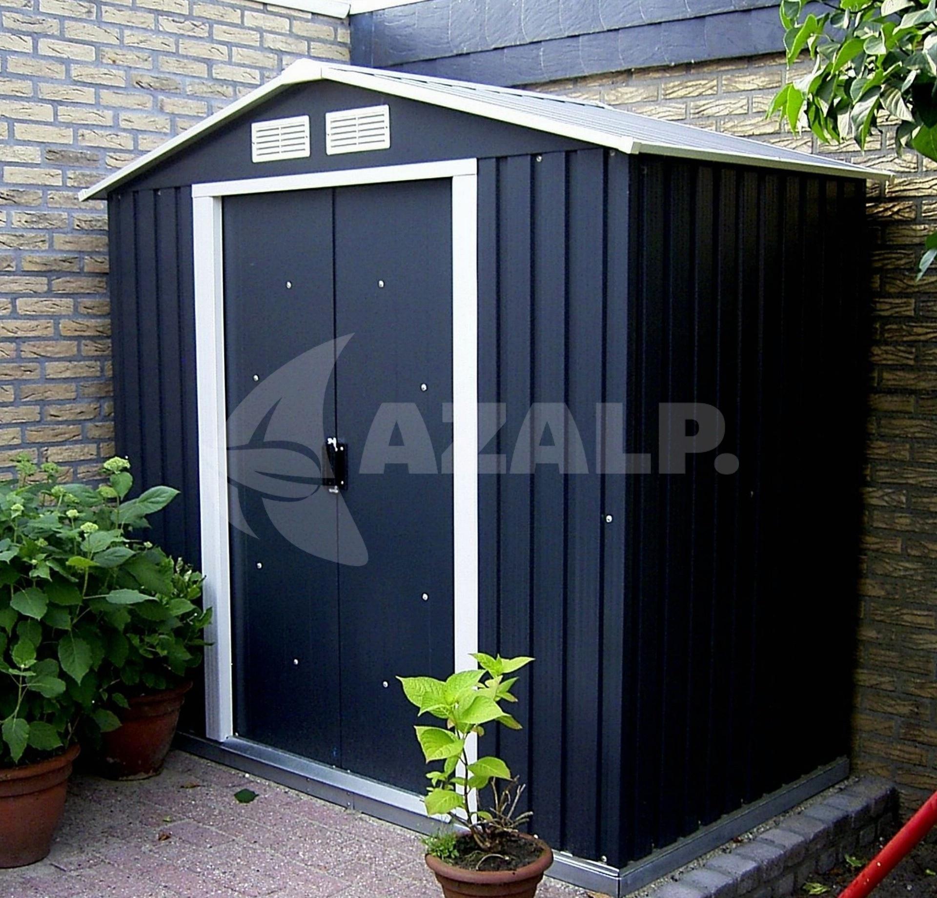 duramax metallger tehaus titan 8x6 anthrazit kaufen bei. Black Bedroom Furniture Sets. Home Design Ideas