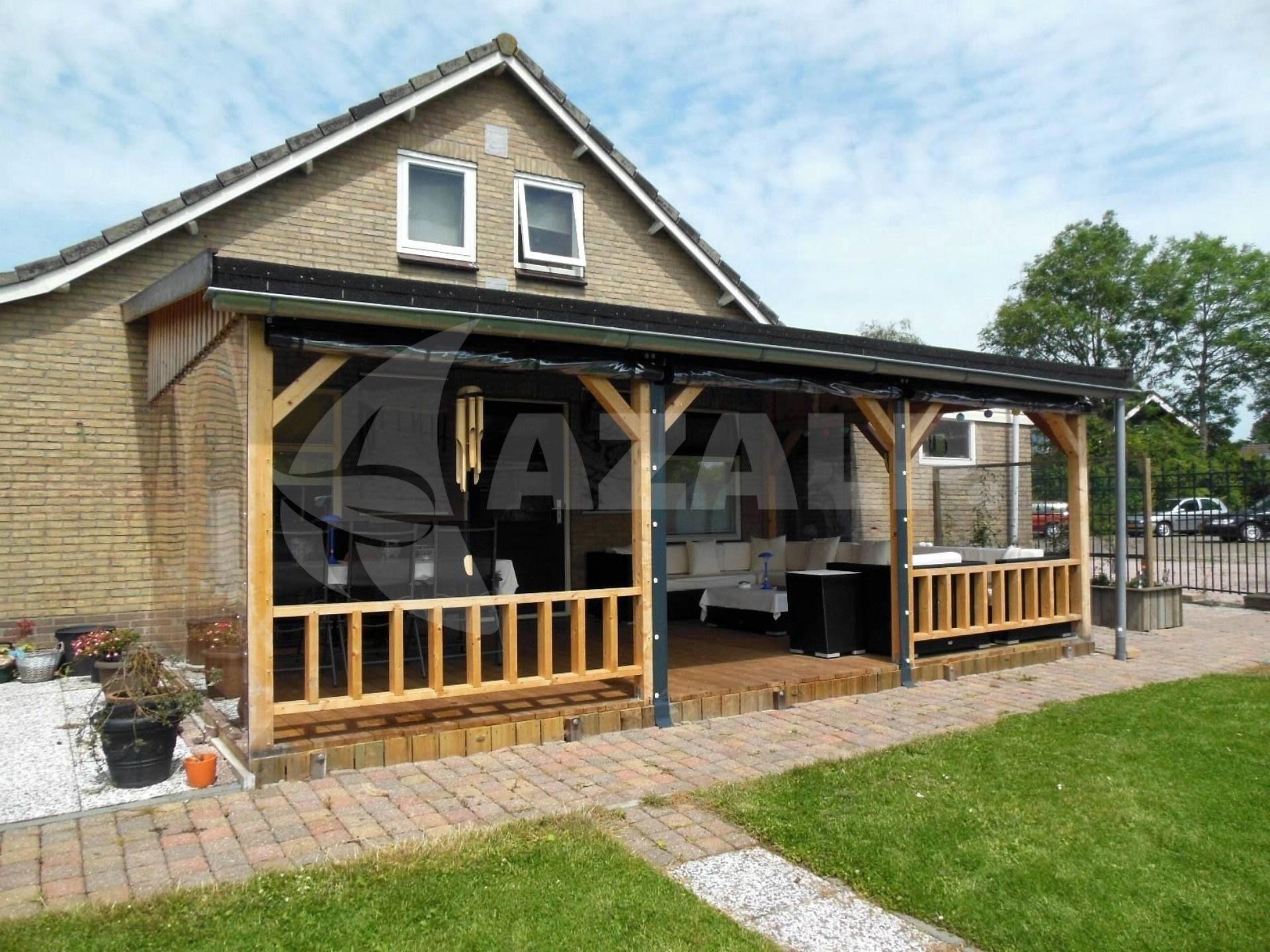 Garage Met Veranda : Azalp houten veranda cm kopen bij azalp