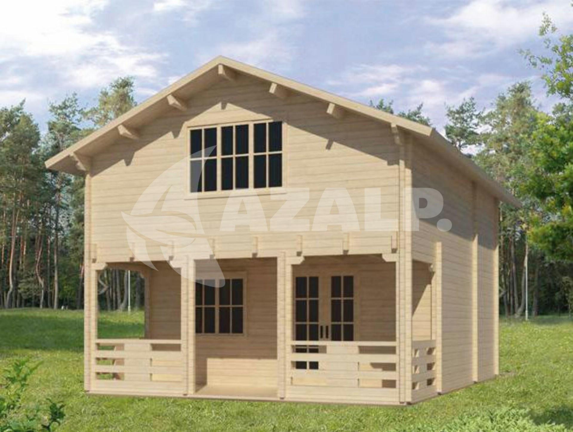 azalp blockhaus victoria 68 mm kaufen bei. Black Bedroom Furniture Sets. Home Design Ideas