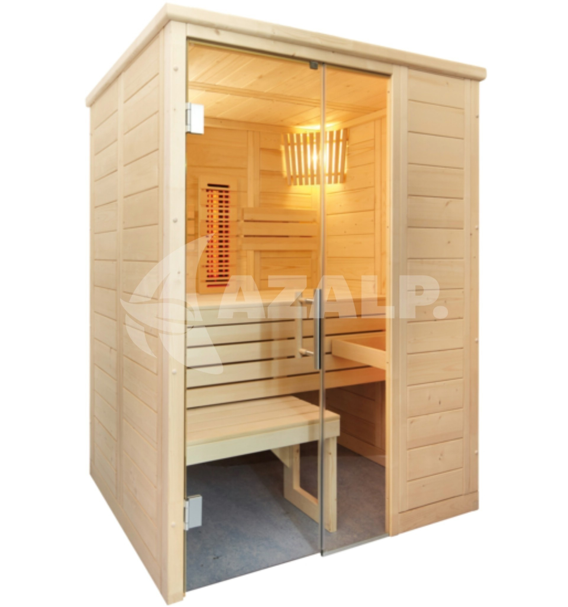 domo 110010016 alaska mini infra kopen bij. Black Bedroom Furniture Sets. Home Design Ideas