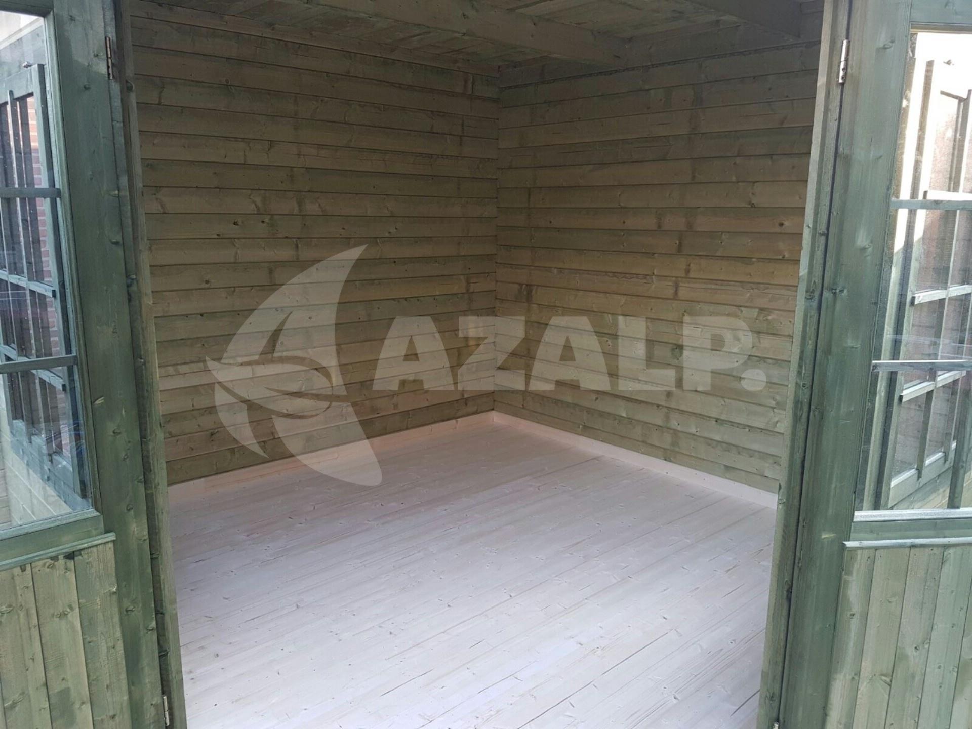 Fußboden Verlegen Gartenhaus ~ Azalp fußboden für gartenhaus kategorie kaufen bei azalp