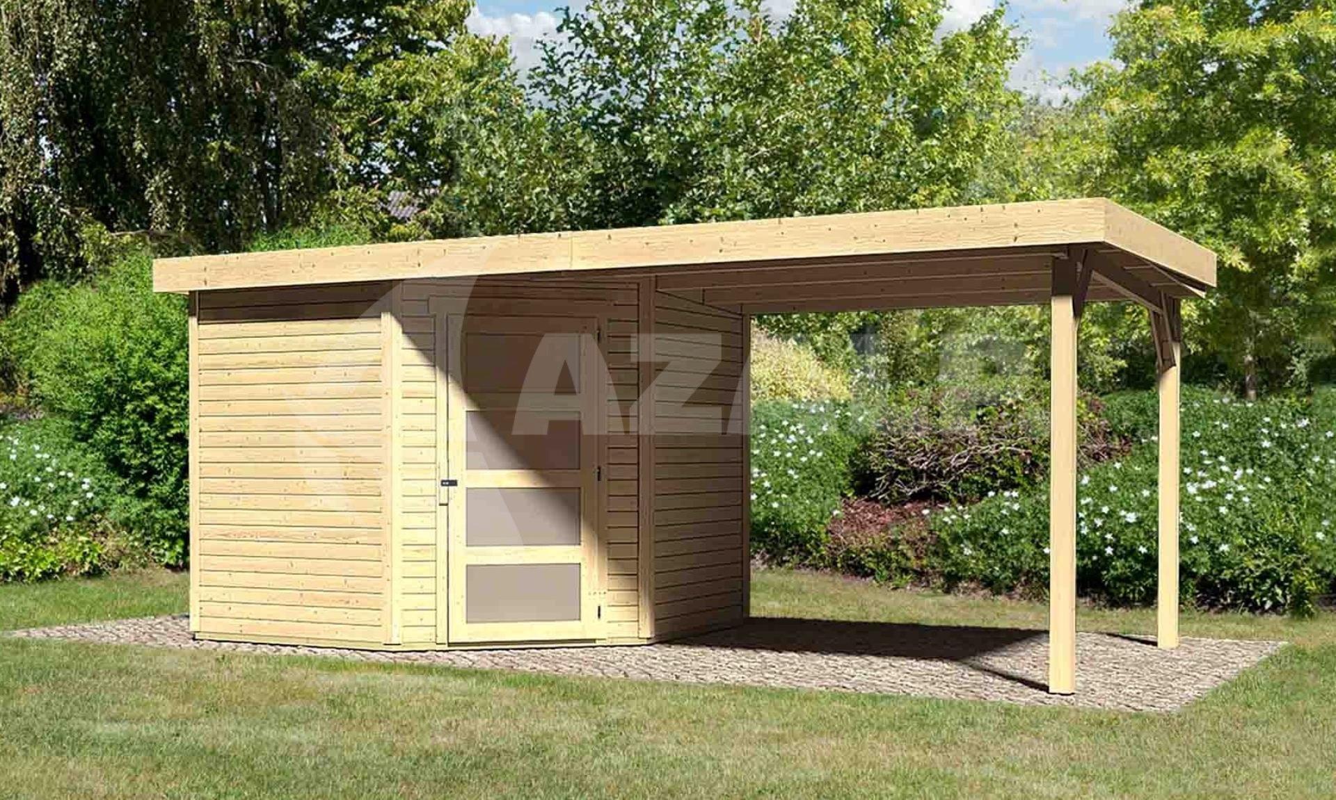 Garage Met Veranda : Woodfeeling schwandorf met veranda kopen bij azalp