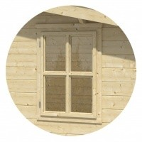 Foto von Outdoor Life Products Drehfenster, 73x97 cm