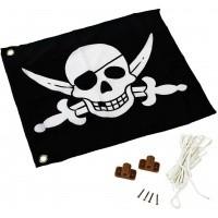 Foto van Akubi Piraat vlag (82594)