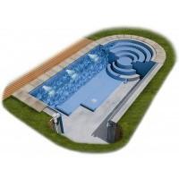 Foto van Proflex Gewapend PVC antislipfolie 1,5 mm - Lichtblauw 8,25 m2