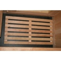 Foto van Azalp Sauna Vloerrooster Elzen, 60x40 cm