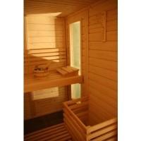 Foto van Azalp Saunaraam massieve sauna Genio 41x120 cm