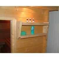 Foto von Azalp Sauna Accessoir Regal