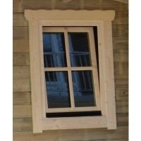 Foto van Azalp Extra raam voor Royal Class blokhut, 80x94 cm