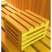 Foto von Azalp Fusshocker für Sauna Erle 20 cm
