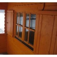 Foto van Azalp Luikenset raam 80x94 cm, standaard