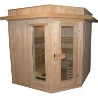 Foto van Azalp Dakrand voor sauna Classic vuren