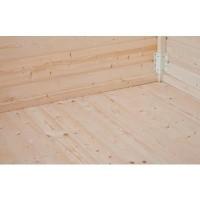 Foto van Azalp Vloer met 30 mm planken voor chalet Vertical