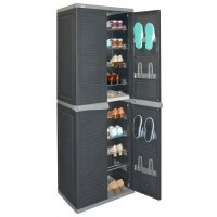 Foto van Allibert Harmony Shoe Cabinet High