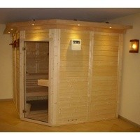 Foto van Azalp Dakrand voor sauna Genio