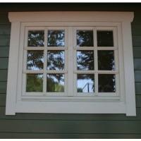 Foto van Azalp Extra raam voor Royal Class blokhut, 120x94 cm