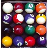 Foto van TopShot Biljartballen (set 16 stuks)