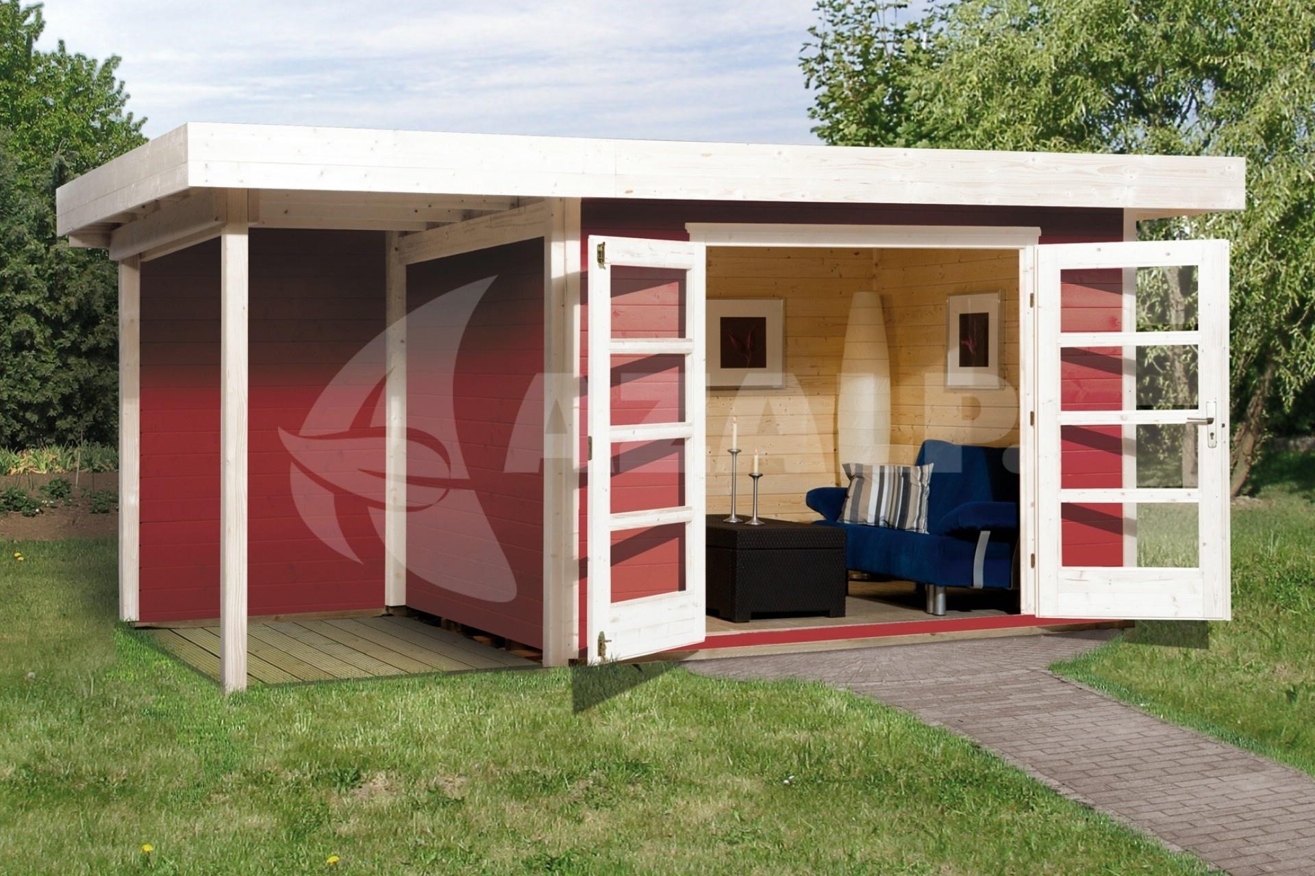 weka designhuis 126 a gr 2 445x300 cm zweeds rood kopen bij. Black Bedroom Furniture Sets. Home Design Ideas