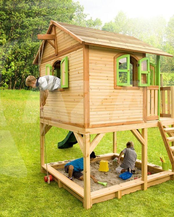 Überdachung Aus Holz Hier Günstig Kaufen Qsgartendecode: AXI Kinderspielhaus Marc Kaufen Bei Azalp.de