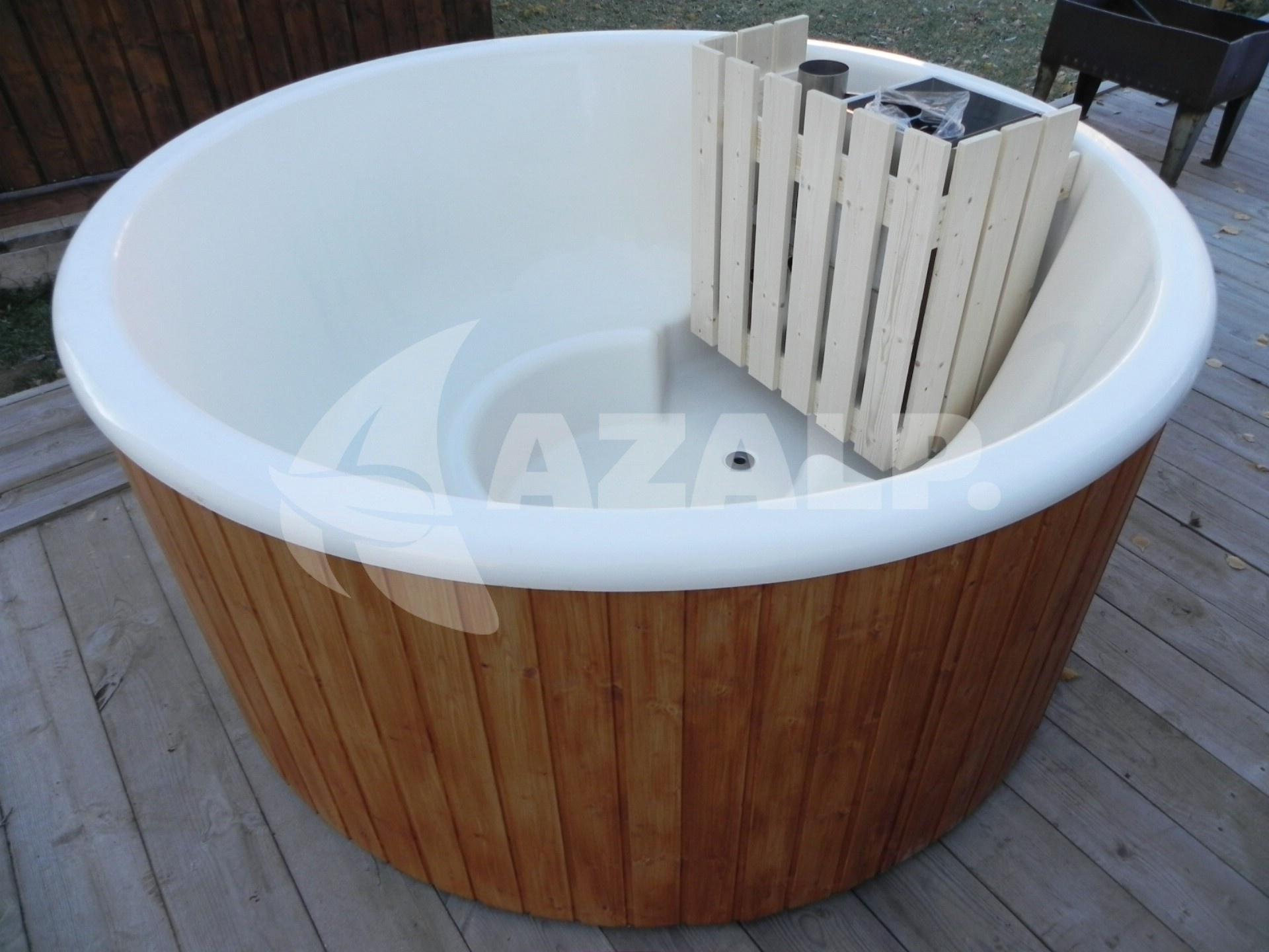 Interflex hottub relax mit kunststoff wanne durchmesser 185cm kaufen bei - Pool wanne kunststoff ...