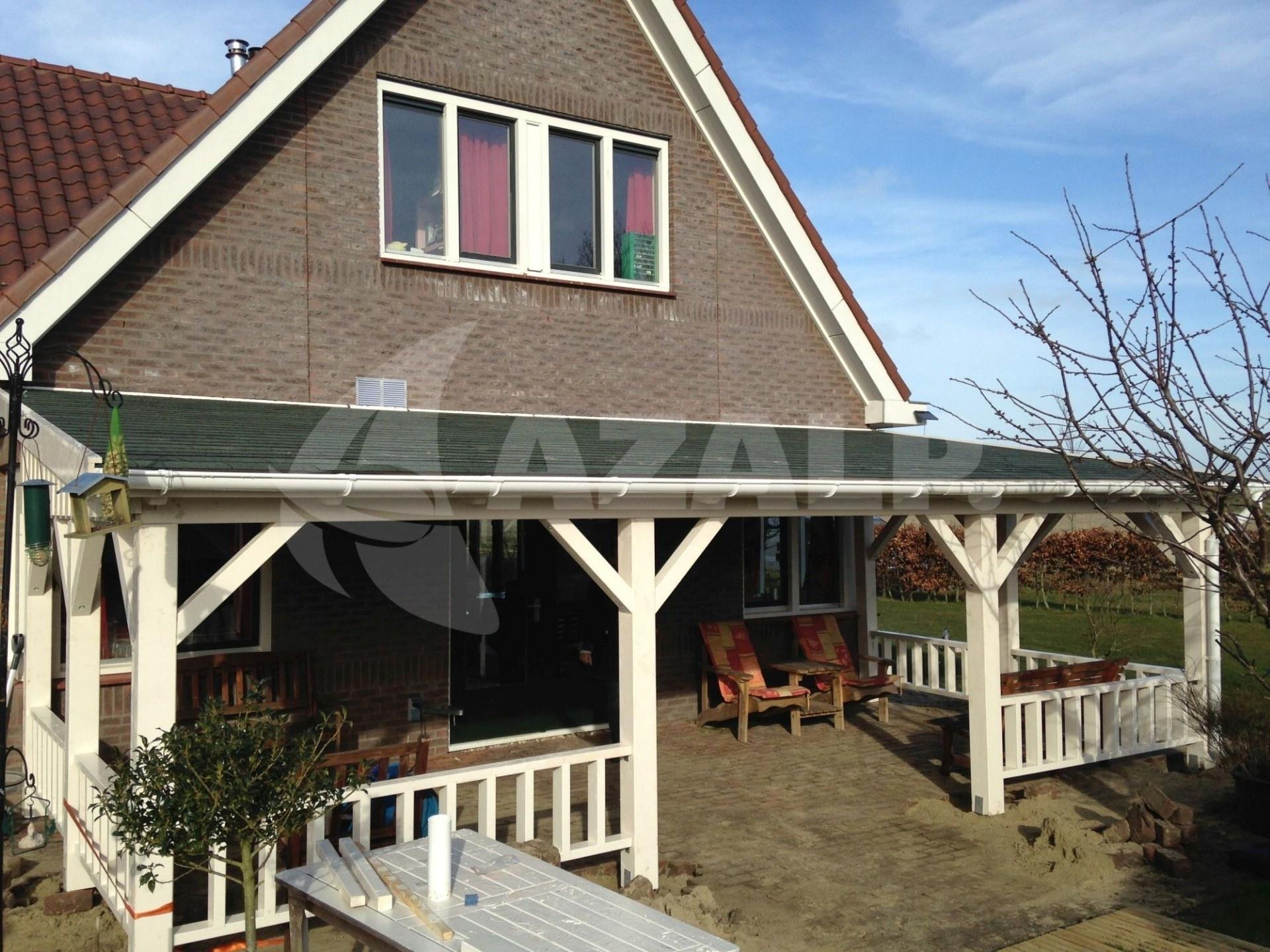 Azalp Terrassenuberdachung Holz 600x300 Cm Kaufen Bei Azalp De