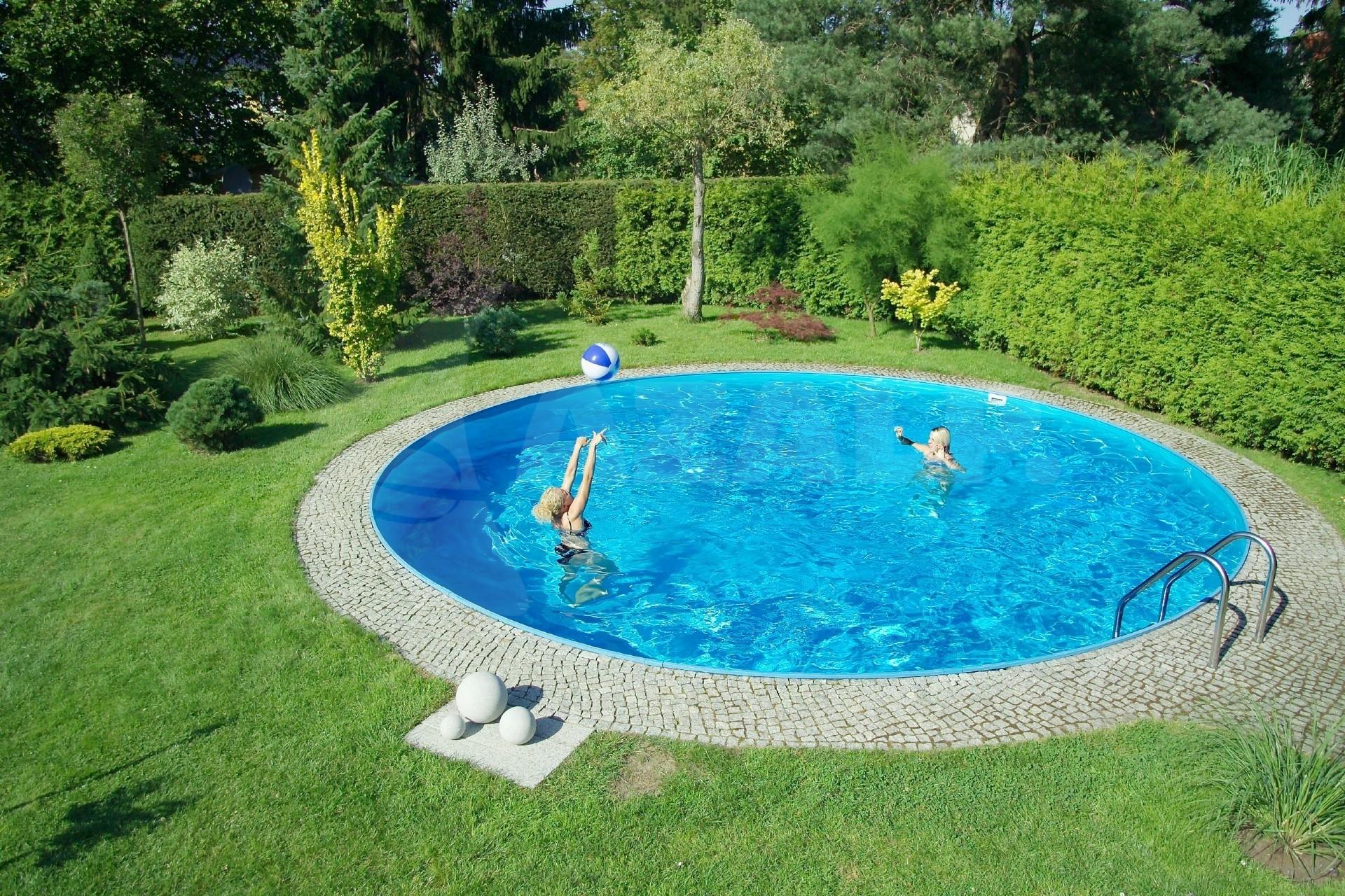 Trendpool ibiza 350 x 120 cm innenfolie 0 8 mm starter for Pool innenfolie 350x90
