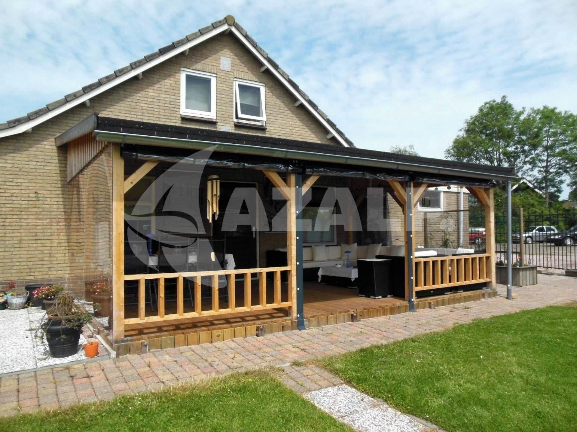 azalp terrassen berdachung holz 550x400 cm kaufen bei. Black Bedroom Furniture Sets. Home Design Ideas