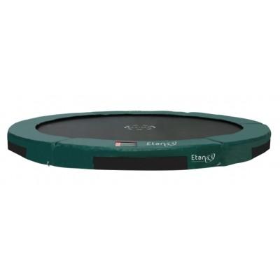 Foto van Etan Inground Hi-Flyer 08 trampoline 244 cm groen