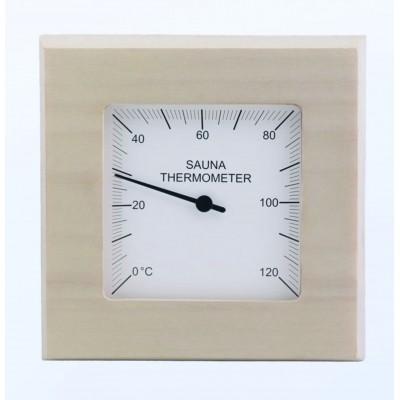 Hauptbild von Sawo Thermometer vierkant Espen (223-TA)