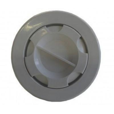Foto van Azalp Luxe stofzuigeraansluiting voor beton/liner en prefab/liner zwembad