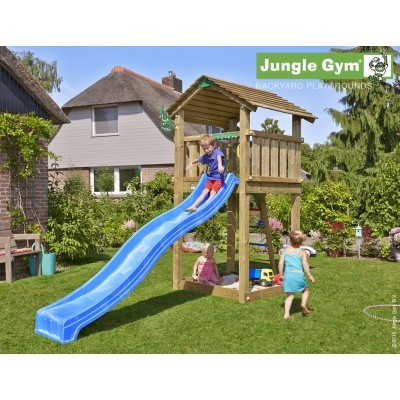 Foto van Jungle Gym Cottage met Glijbaan