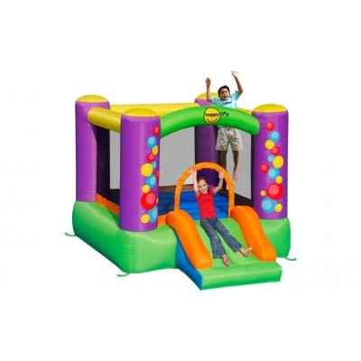 Foto van Happy Hop Bubble Slide Bouncer
