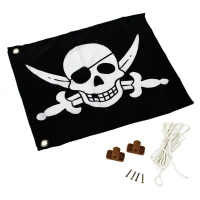 Foto von AXI Flagge mit hebezeug System - Piraat