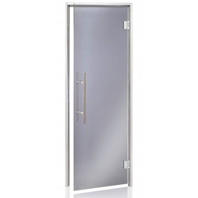Hoofdafbeelding van Hot Orange Stoombad deur Au Premium 90x210 cm, grijs