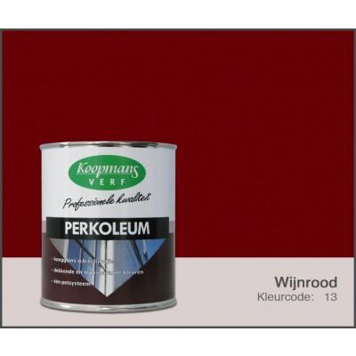 Foto van Koopmans Perkoleum, Wijnrood 13, 0,75L Hoogglans