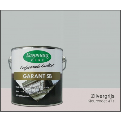 Hoofdafbeelding van Koopmans Garant SB, Zilvergrijs 471, 2,5L