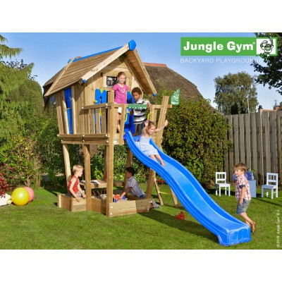 Foto van Jungle Gym Playhouse CXL met Glijbaan
